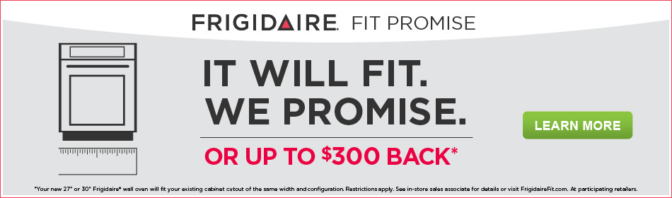 frigidaire it will fit program - Frigidaire