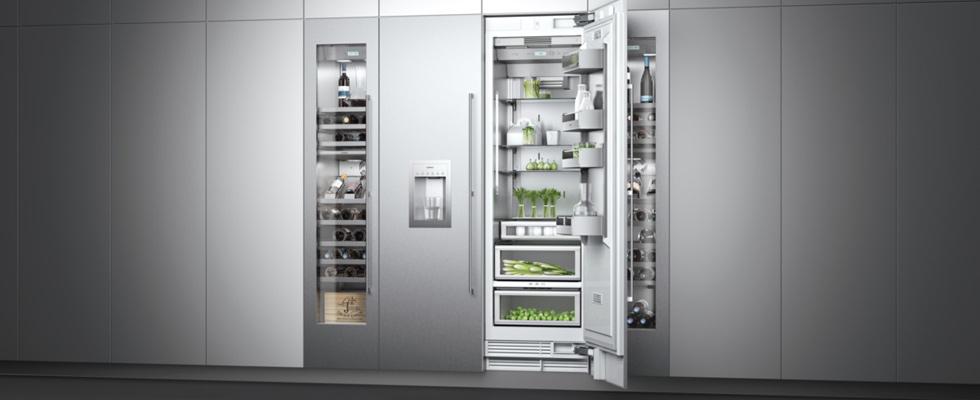 Gaggenau Wine Refrigerator and Built-In Refrigerator