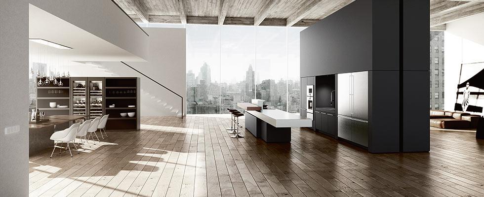 Gaggenau Appliances in Their NY Showroom