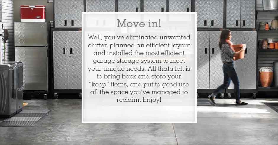 Gladiator GarageWorks Clean Plan Build