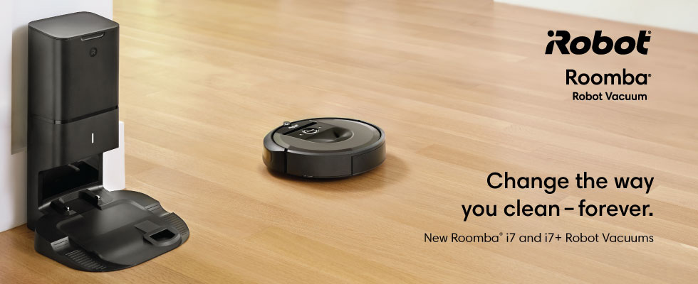 Shop the new iRobot Roomba i7 & i7+ Robot Vacuum