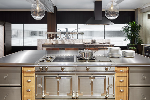 La Cornue Kitchen in the Abt Inspiration Studio