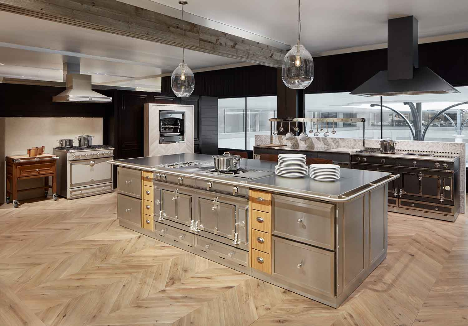 Ordinaire La Cornue Kitchen In The Abt Inspiration Studio