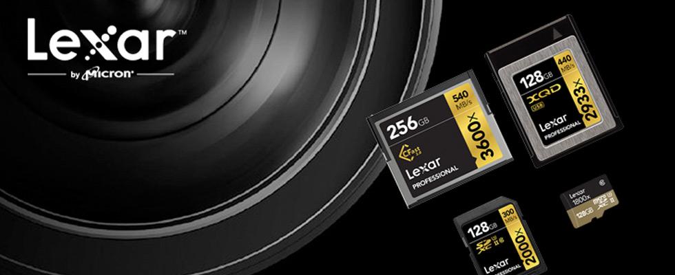Lexar Memory Products at Abt