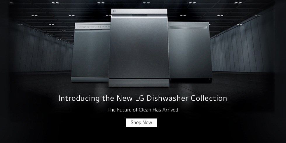 The New LG Dishwasher Collection
