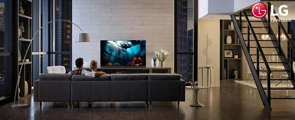 LG TVs at Abt