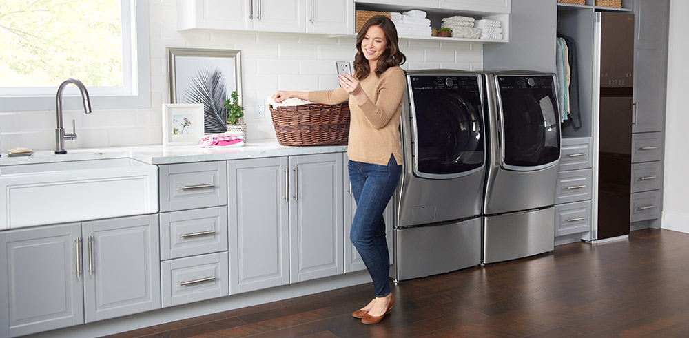 LG Washers & Dryers - Mega Capacity Pair with SmartThinQ® Technology