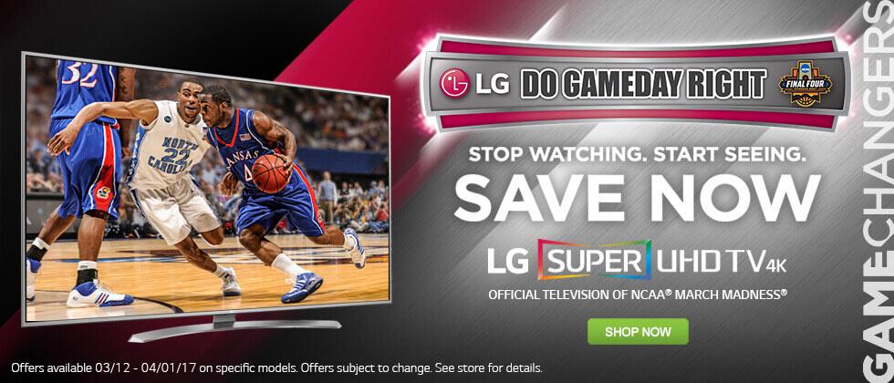 Shop LG TVs