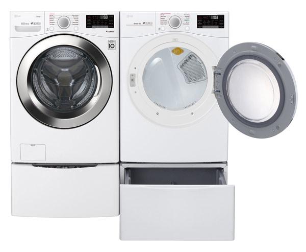 LG Laundry Pedestal Storage Drawer