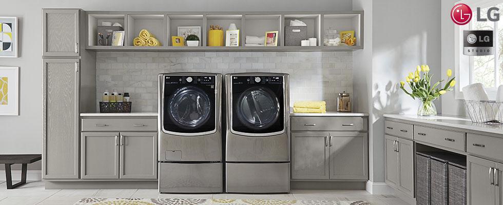LG Laundry Appliances at Abt