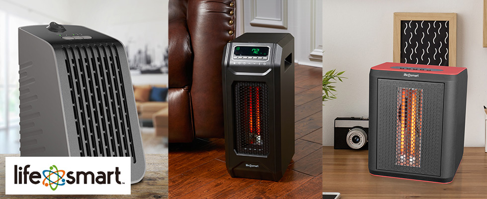 Lifesmart Infrared Heaters at Abt