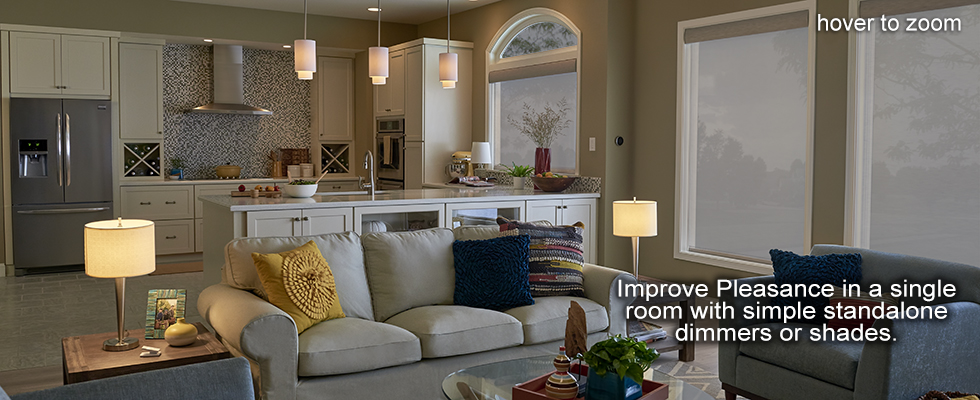 Lutron Great Room Diva Dimmer and Switch