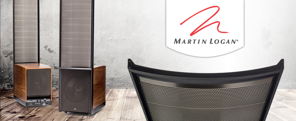 MartinLogan Speakers & Subwoofers at Abt