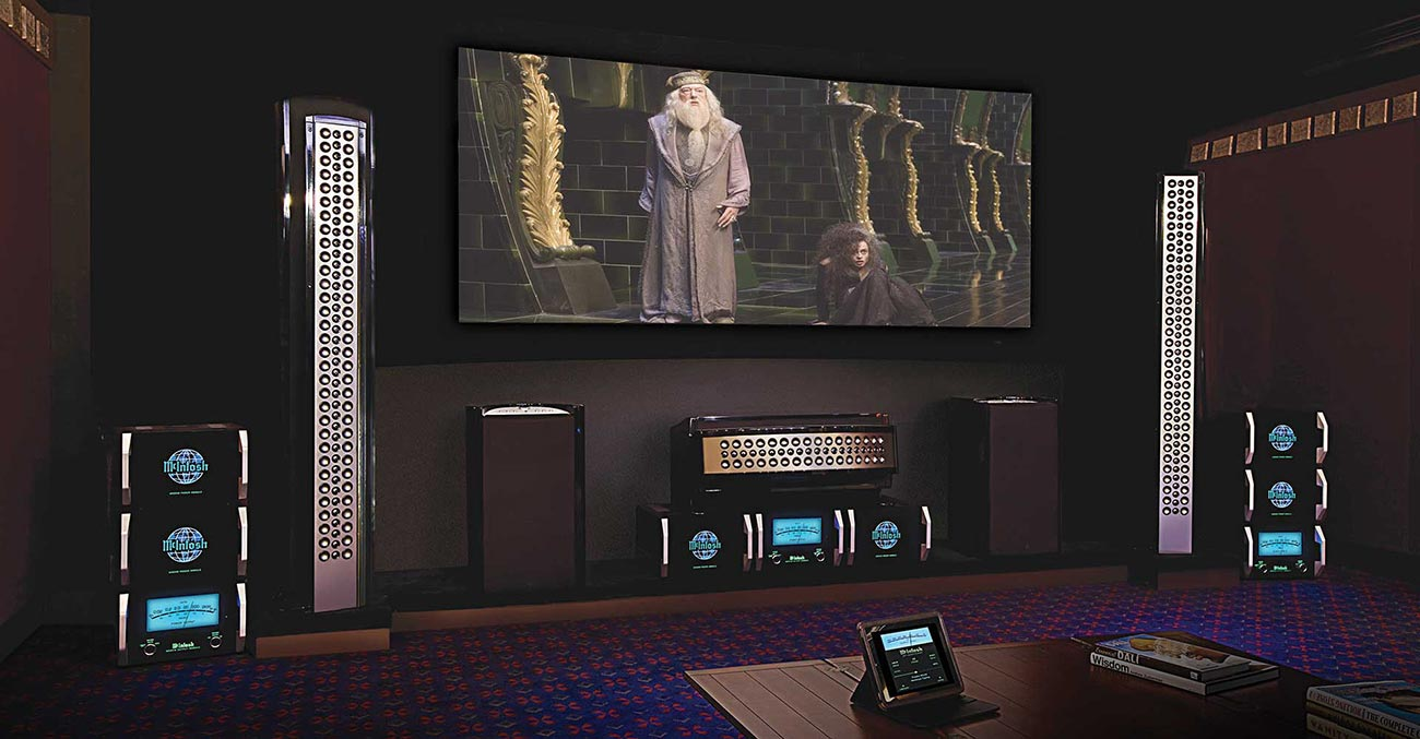 McIntosh Handcrafted Home Audio and Home Theater Systems at Abt