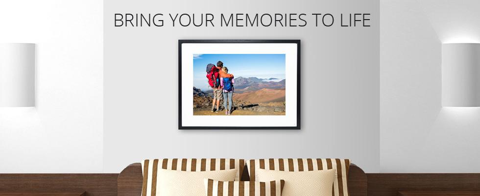Memento Smart Picture Frames