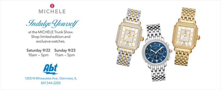 Michele Trunk Show at Abt - September 22nd and 23rd