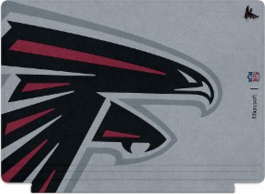 Microsoft Surface Special Edition NFL Type Cover - Atlanta Falcons