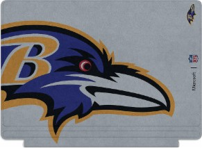 Microsoft Surface Special Edition NFL Type Cover - Baltimore Ravens
