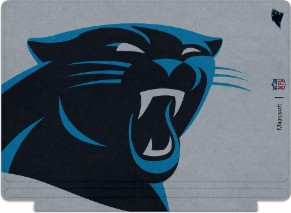 Microsoft Surface Special Edition NFL Type Cover - Carolina Panthers