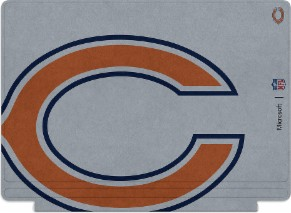 Microsoft Surface Special Edition NFL Type Cover - Chicago Bears