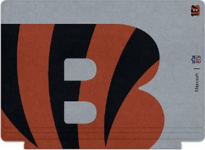 Microsoft Surface Special Edition NFL Type Cover - Cincinnati Bengals
