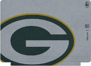 Microsoft Surface Special Edition NFL Type Cover - Green Bay Packers