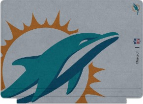 Microsoft Surface Special Edition NFL Type Cover - Miami Dolphins