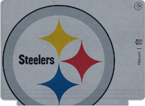 Microsoft Surface Special Edition NFL Type Cover - Pittsburgh Steelers