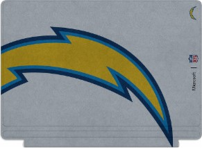 Microsoft Surface Special Edition NFL Type Cover - San Diego Chargers