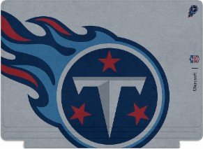 Microsoft Surface Special Edition NFL Type Cover - Tennessee Titans