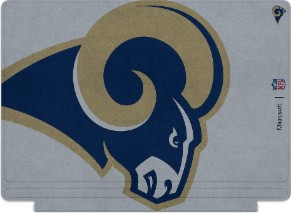 Microsoft Surface Special Edition NFL Type Cover - Los Angeles Rams