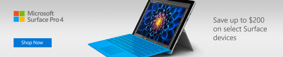 Save up to $200 on select surface devices