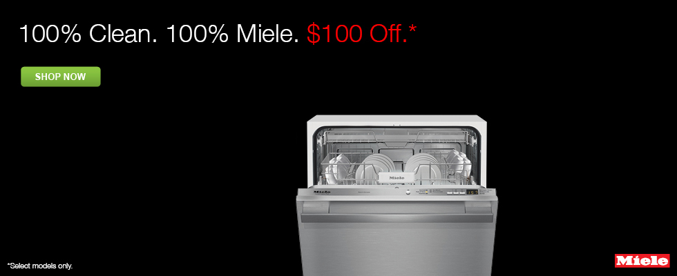 100% Off Select Miele Dishwashers ...