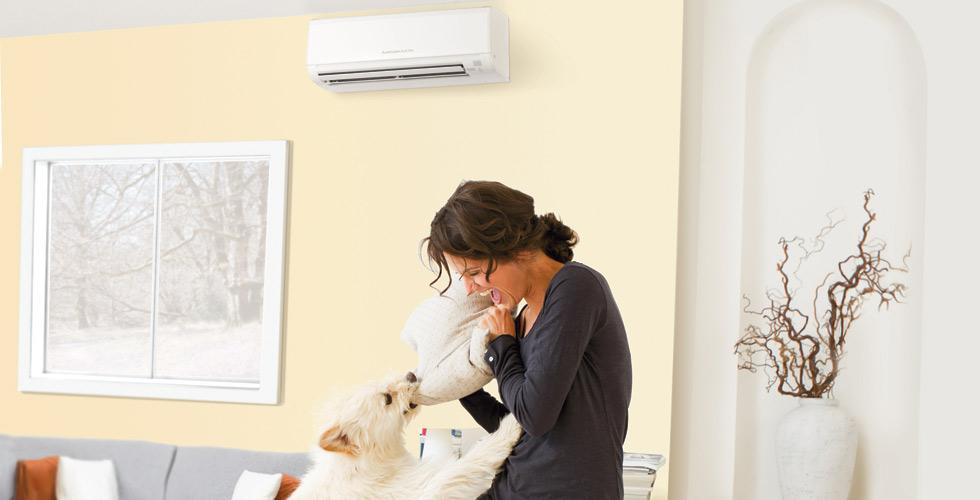 Mitsubishi HVAC - Electric Cooling & Heating