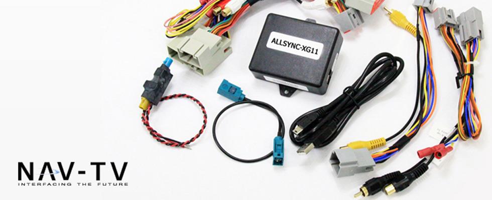 NAV-TV Automotive Installation Products at Abt