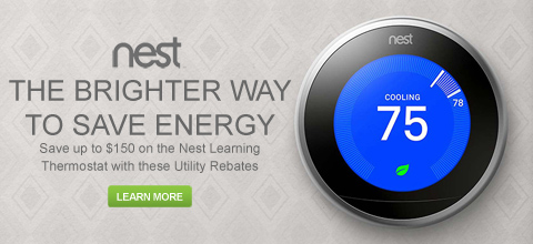 Save up to $150 on a Nest Learning Thermostat With These Utility Rebates