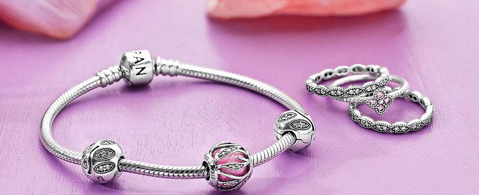 Pandora Jewelry Charm Bracelet