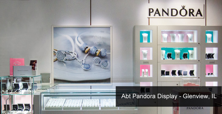 Pandora Display | Abt, Glenview, IL