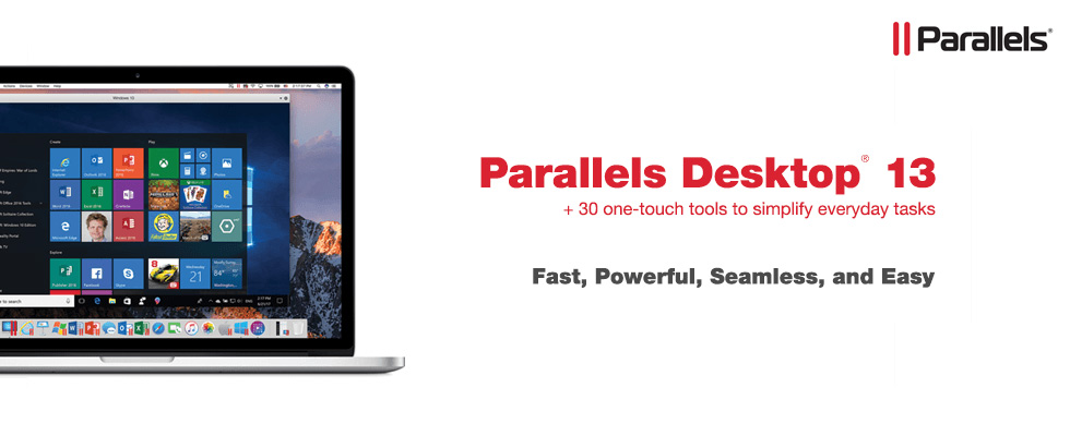 Parallels Desktop 13 For Mac - Fast, Powerful, Seamless, and Easy