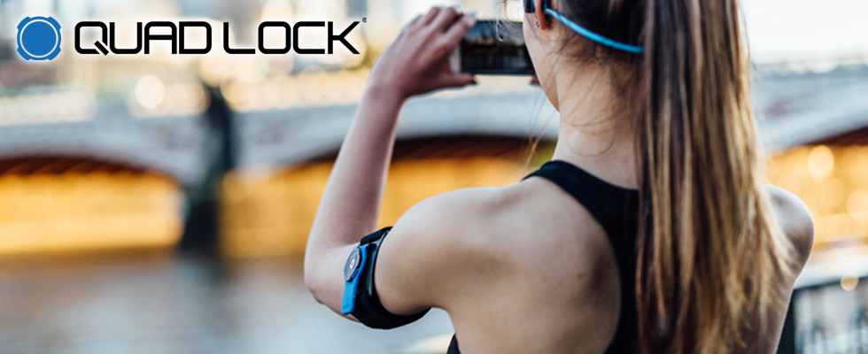 Quad Lock iPhone Bike Mounts and Armband at Abt