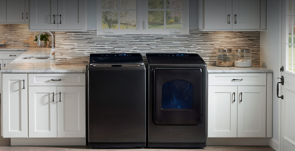 Samsung Washers and Dryers with FlexWash™ & FlexDry™
