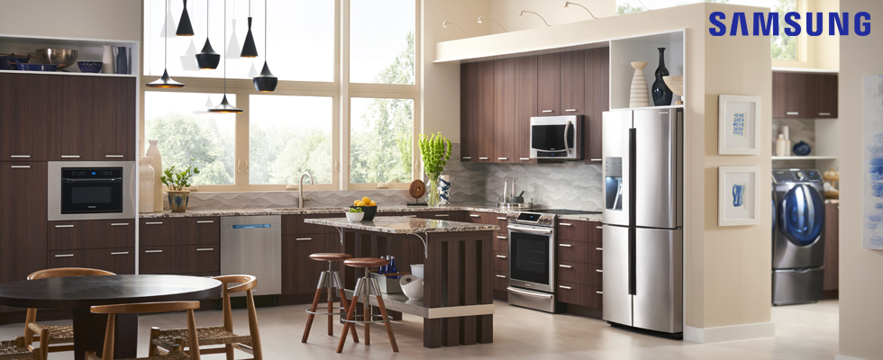 Samsung Kitchen and Laundry Appliances