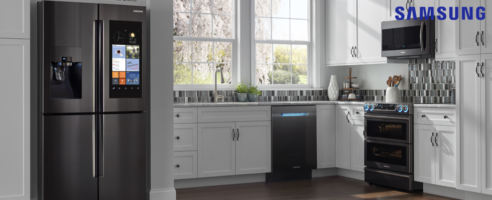 Black Stainless Kitchen Samsung