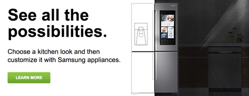 Samsung Virtual Kitchen Consultant