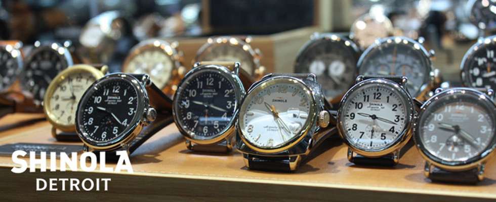 Shinola Watches at Abt