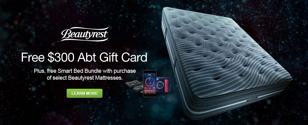 Beautyrest - Free Beautyrest Sleeptracker monitor with purchase of select Beautyrest mattresses or Beautyrest SmartMotion Bases. Expires: 12-31-18