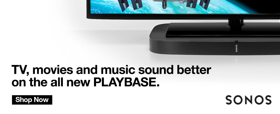 Sonos PLAYBASE Shop Now