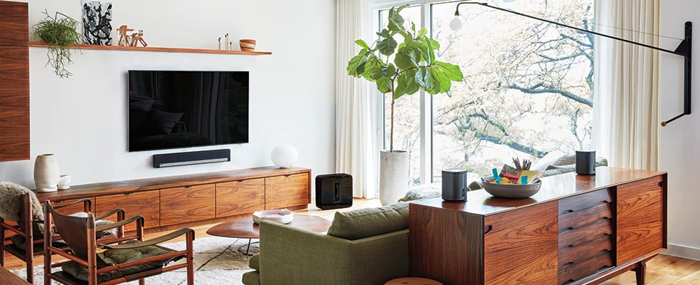 Sonos Wireless Speakers, Subwoofers, Soundbars, Stereo Systems and more today