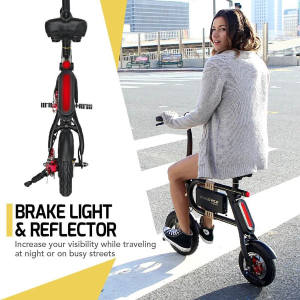 Swagtron Swagcycle - Brake Light & Reflector