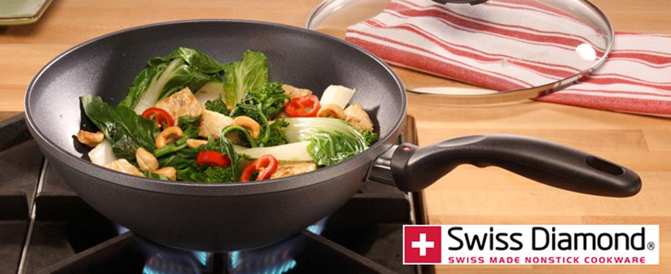 Swiss Diamond Cookware at Abt